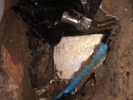 Leak Under floor
